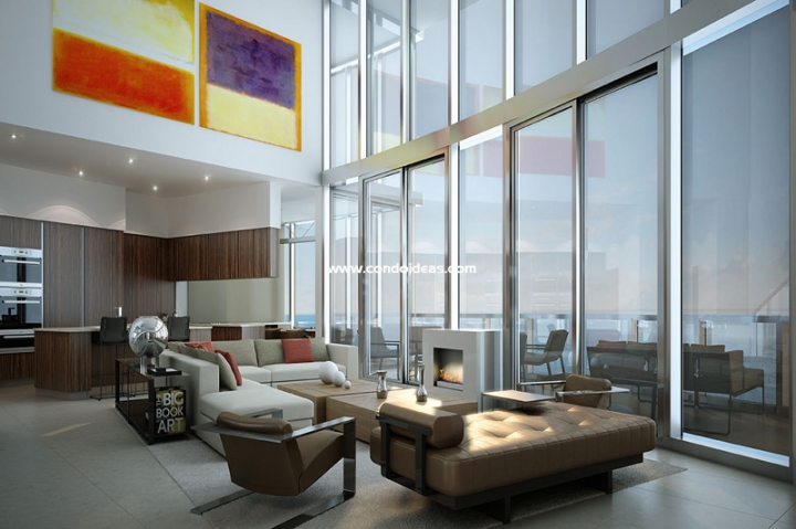 Porsche Design Tower condo