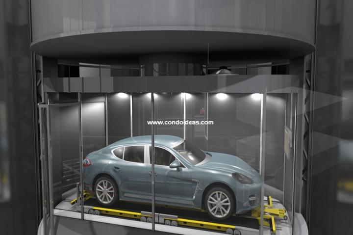 Porsche Design Tower condo